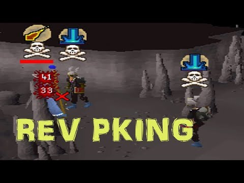 Revs Duo Pking with Pot Up Son with Commentary (Revenant Cave Pking)