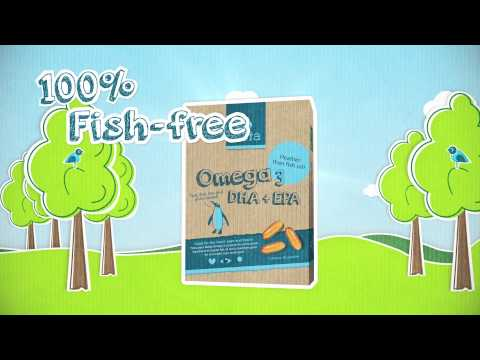 Why Is Testa Omega 3 Better Than Fish Oil? (Algae Oil With DHA And EPA Fatty Acids)