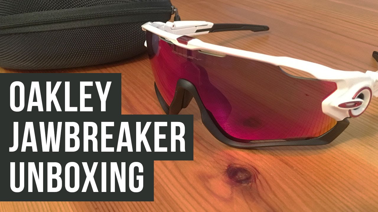 e1ebd4d2f34 Oakley Jawbreaker Unboxing - Polished white   Prizm Road - YouTube