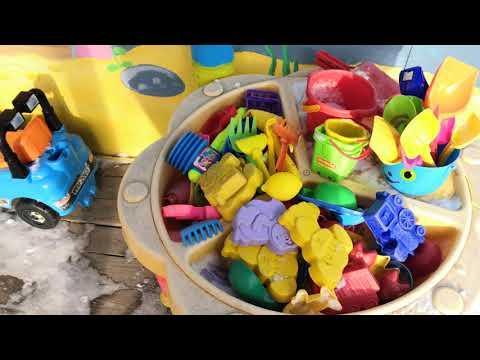 Оформление беседки, площадки в детском саду ч1