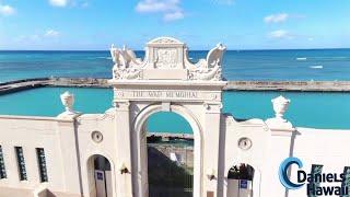 Geheimnisvolles Denkmal in Hawaii - Traumhafte Luftaufnahmen aus Hawaii - DanielsHawaii.de