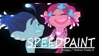 Techno Trolls / Broppy 2 - SPEEDPAINT