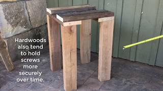 "Handmade House TV #38 ""Building a Stonemason's Work Table"""