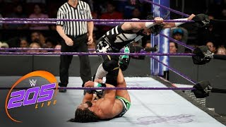 Mustafa Ali vs. Tony Nese: WWE 205 Live, Nov. 21, 2017