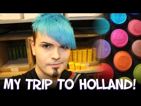 My Holland Vlog! - I got to see a Face Paint Factory!
