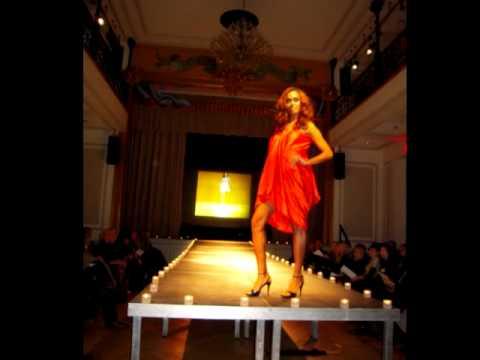 Sarka Siskova fashion show at Czech Center