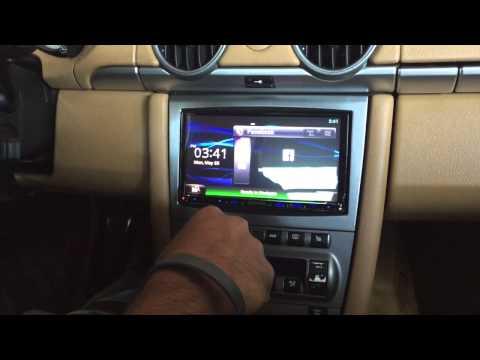 '07 Porsche Cayman Kenwood Radio,GPS, XM Radio Install