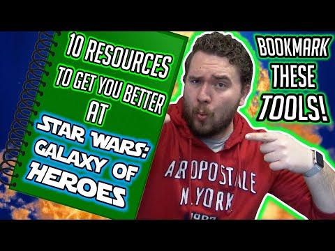 10 Resources To Help You Get Better At Star Wars: Galaxy Of Heroes!