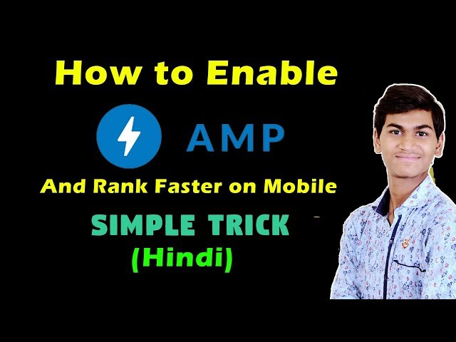 (Rank Faster)How to Enable/Active AMP on Wordpress Site in Just 10min (Hindi)
