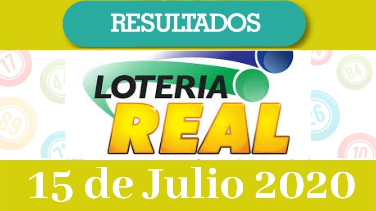 Resultados de la loteria Real de hoy 15 de julio del 2020