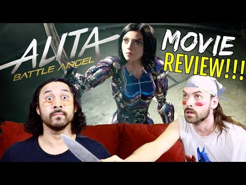 ALITA: BATTLE ANGEL - MOVIE REVIEW!!!