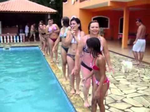 balé aquatico das meninas