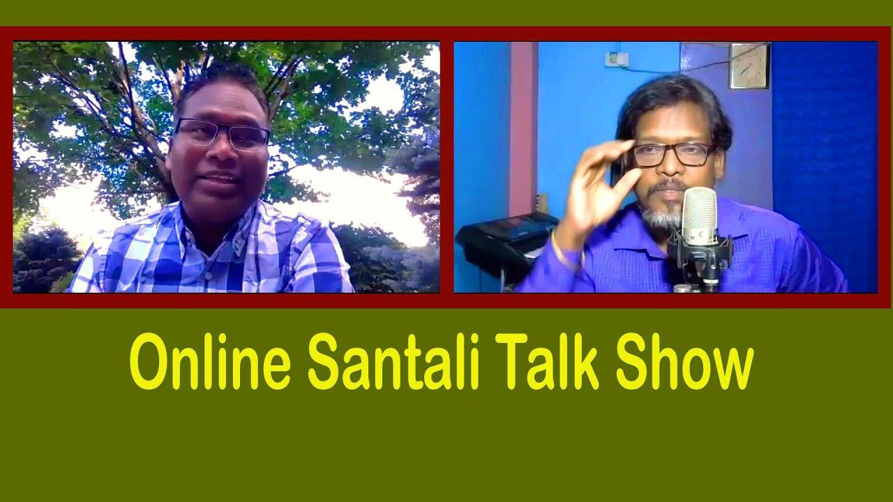 Singrai Soren With Dukhi Ram Hembram From USA (Promo)   Online Santali Talk Show