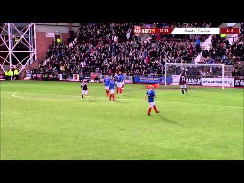 Hearts 10-0 Cowdenbeath: All the goals!