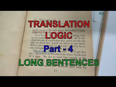 How to Translate Long Sentences , Translation logic for long sentences from hindi to english