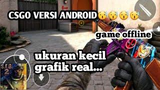 woow....counter strike versi android??????game offline grafik mantep banget real / Видео