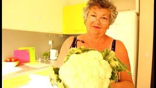 Как приготовить  листья цветной капусты