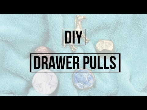 DIY Drawer Pulls To Update Your Furniture! | Dana Jean
