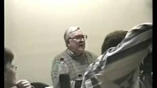 Константин Беляев на 70-летии Юрия Миронова-Носа