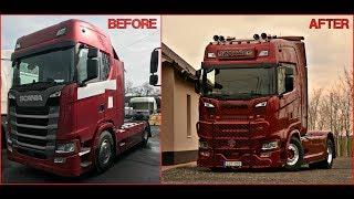 How It's Made: Scania S500 Szakács Special (Gyerök)