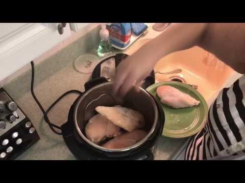 Easy - Frozen Chicken Breasts In The Instant Pot