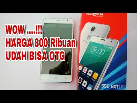 Unboxing Advan S5E Nxt,HP 800 Ribuan Bisa OTG - AW Channel
