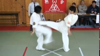 ジュニア武道空手道選手権大会 2014