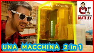 🔥FAI DA TE: Anycubic wash & cure machine - Una macchina 2 in 1 per le tue stampe 3D in resina