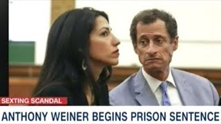 Anthony Weiner First Day In Prison For Sexting With 15 Year Old Girl