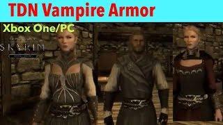 Skyrim SE Xbox One/PC Mods|TDN Vampire Armor