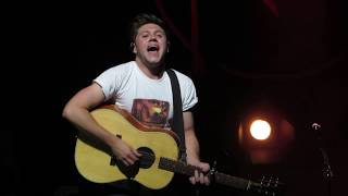 Niall Horan Having The Crowd Sing Fool