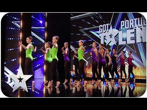 Grupo Edam - Audições PGM 02 - Got Talent Portugal Série 02