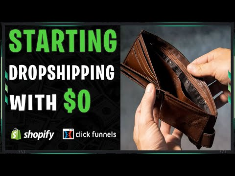 Easiest Way To Start Dropshipping With No Money | Starting From Scratch (& How I Would In 2019..) thumbnail