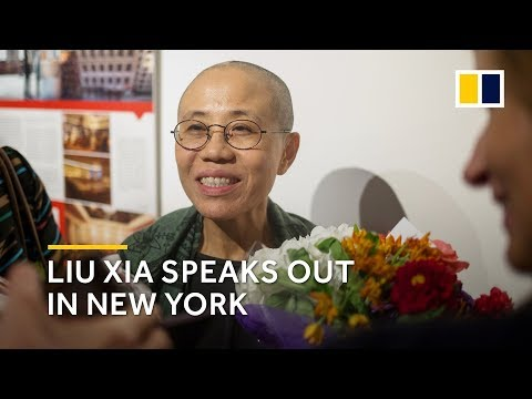 Chinese dissident Liu Xia, widow of Liu Xiaobo, speaks out for the first time in New York