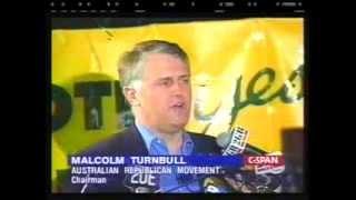 Malcolm Turnbull speaks after 1999 referendum defeat