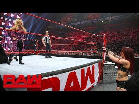 Sasha Banks, Bayley & Natalya vs. The Riott Squad: Raw, Nov. 5, 2018