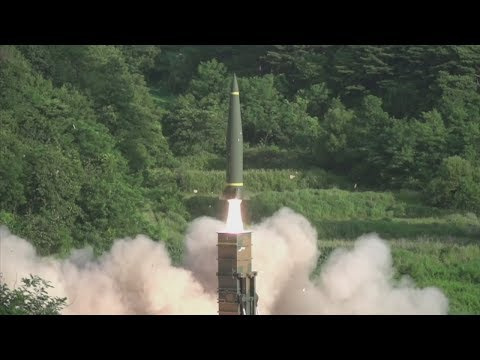 The US and South Korea carry out missile drill to counter North Korea test