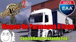 Euro Truck Simulator 2 - Mapa EAA V1.1 - Viagem De Constellation