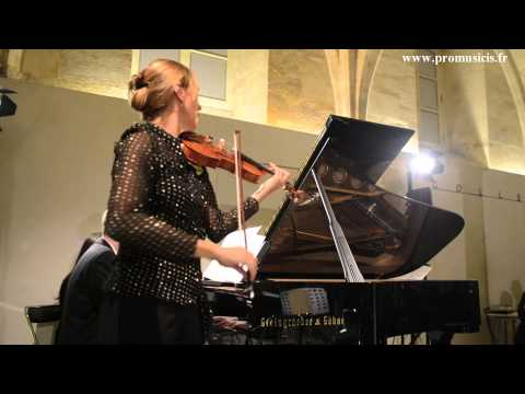 St Saëns Introduction & Rondo capriccioso  by violinist Jane Peters and pianist Andrew Staupe !