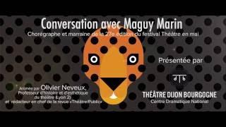 Conversation avec Maguy Marin - Teaser