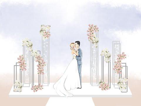 Создание макета для свадьбы Love Story с помощью программы Adobe Photoshop