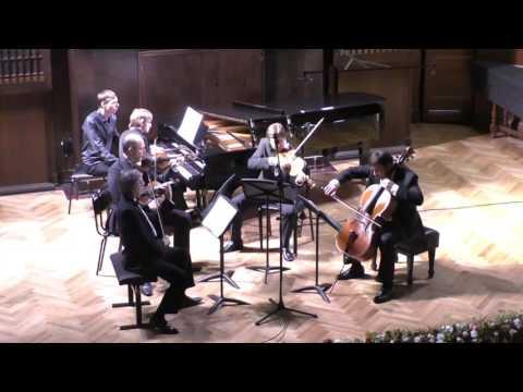 бис  Д. Шостакович Квинтет соль минор, соч. 57  квартет имени Бородина Дмитрий Маслеев (фортепиано)