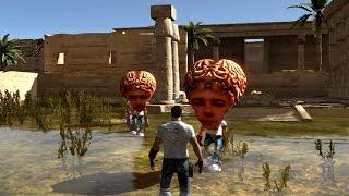 Serious Sam 3: BFE Croteam Heads - Secret Hall Of Developers