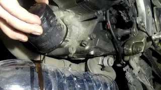 Oil change on Suzuki SV 650-400. Замена масла на Suzuki SV 650-400