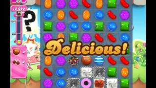 Candy Crush Level 729 (no boosters, 3 stars, 20 moves left)