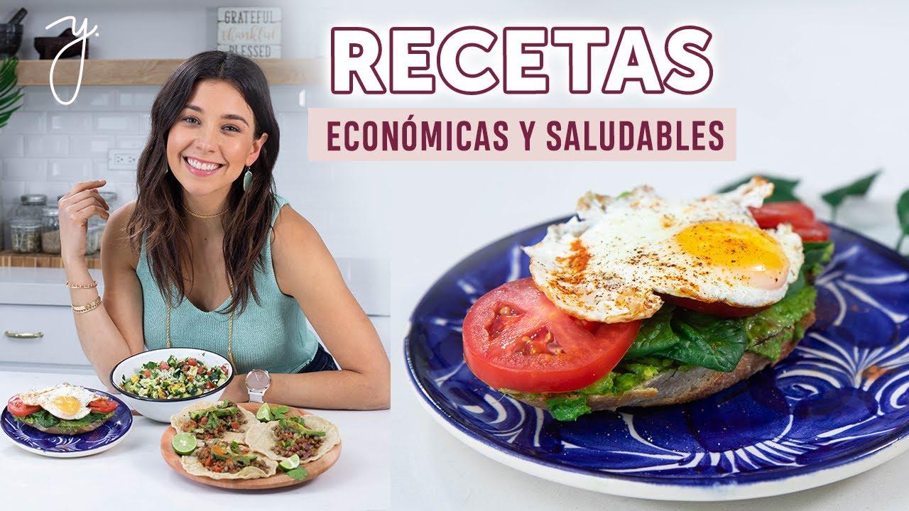 Recetas de comidas ricas pero saludables