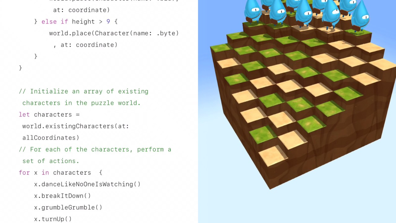 swift playgrounds learn to code 1 & 2 pdf