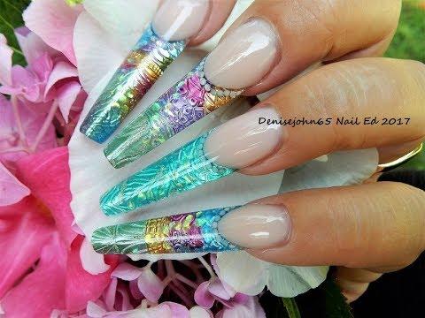 Metallic Mermaids Tutorial Gel Denisejohn65 Nail Ed