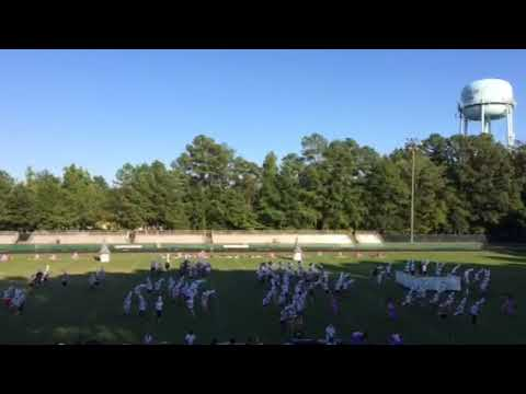 Cary High School Marching Band: After Practice Run-Through(with shakos!)