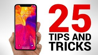 iPhone X - TOP 25 Tips & Tricks You NEED to KNOW! thumbnail